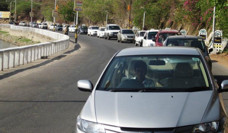 First Car Rally by Rajasthan Motor Club