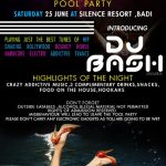 Pool party Udaipur