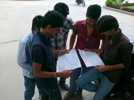 RTU 2nd Semester students appeared for Re-examination