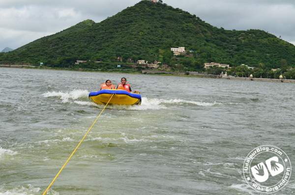 Water Sport Activities at Fatehsagar Organized by MLSU