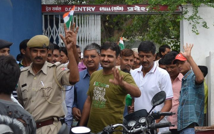 [Friendship Day Special] Screening of Singham for entire Police Force