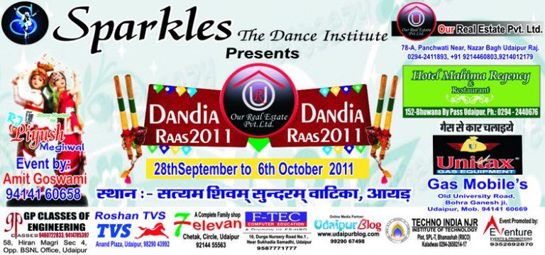 Sparkles Dandia Raas 2011