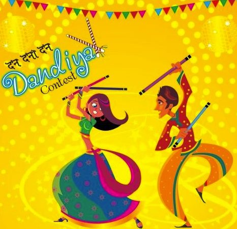 The Grand Dandiya Competition at The Celebration Mall