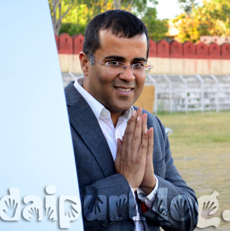 Hello Udaipur: Says Chetan Bhagat