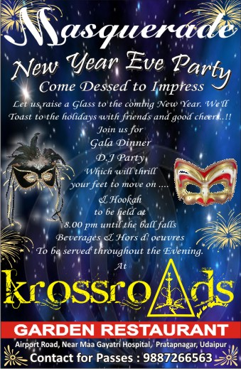 KrossRoads New Year Party