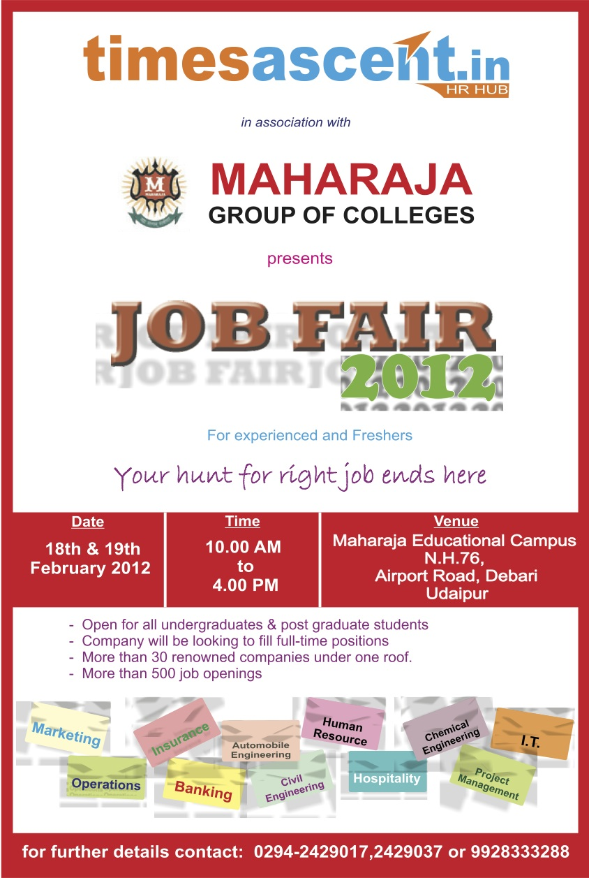 Job Fair in Udaipur
