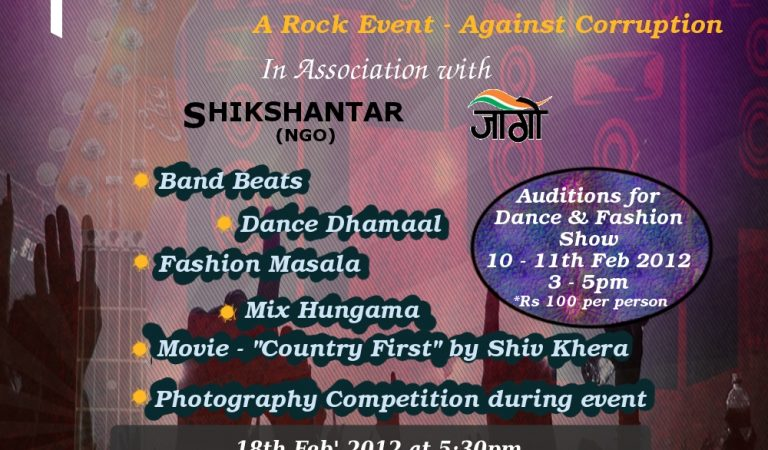 Parivartan – A Rock Event Against Corruption
