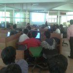 Wordpress Workshop in Maharaja College of Engineering