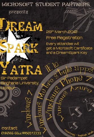 Dream Spark Yatra Udaipur