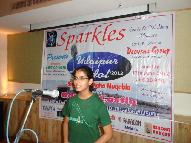 Auditions of Udaipur Idol 2012 completed