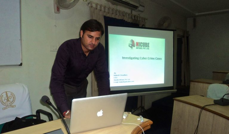 Cyber Crime investigation training for Udaipur Police