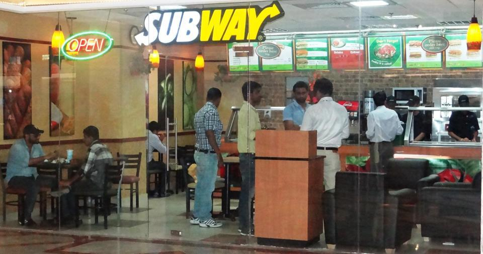 Subway in Udaipur