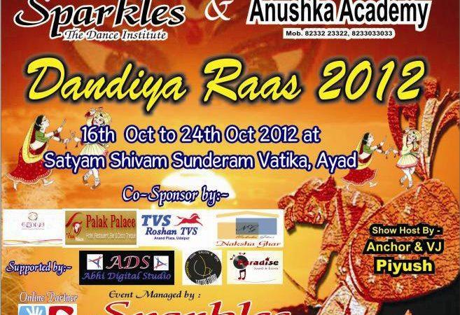 Dandiya Raas 2012 with Sparkles