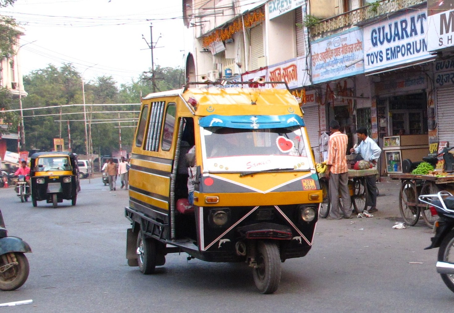 Local Transport System In Udaipur