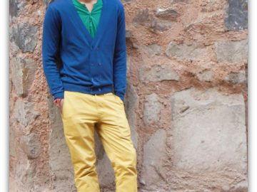 Coloured pants