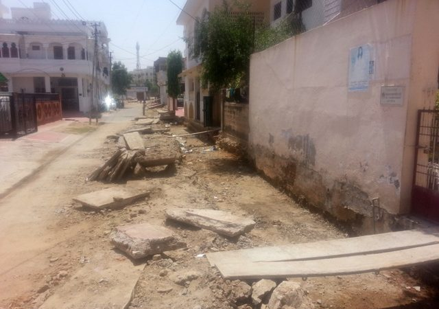 [Udaipur Speaks] Anger arouses in Sector 5 Gayatri Nagar