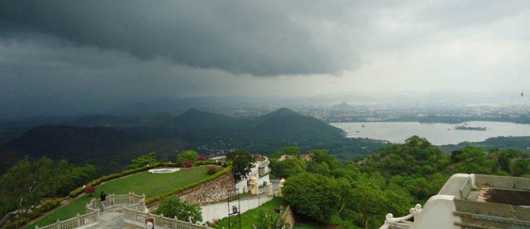 Monsoon in Udaipur
