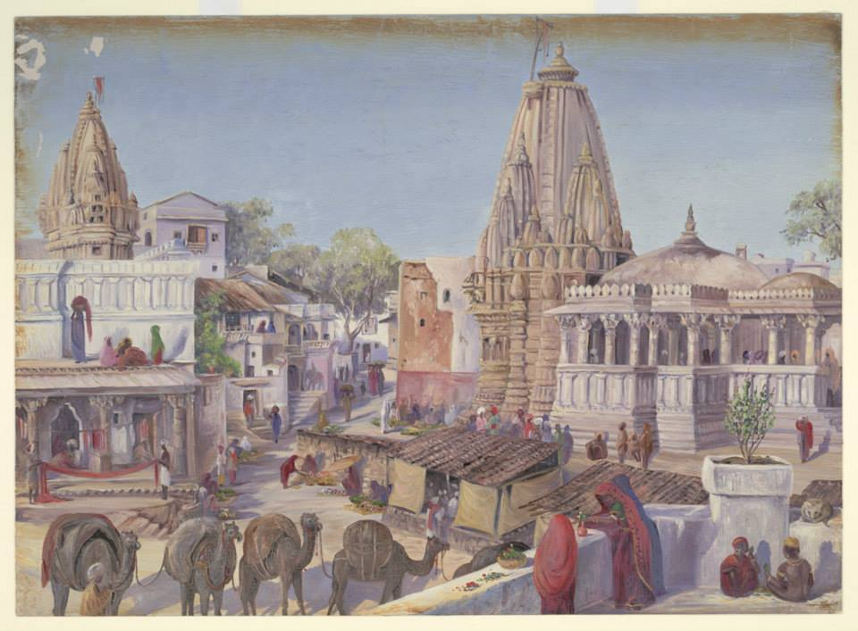 19th Century Udaipur through the Canvas of Water Colour