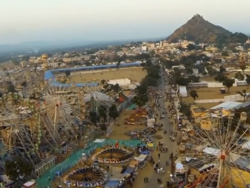 Pushkar Aerial Photo