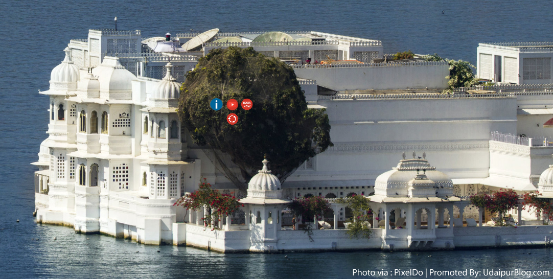 Lake Palace Gigapixel
