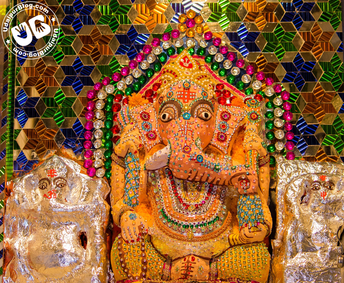 Ganesh Chaturthi 2014 – A Look through major Temples in Udaipur