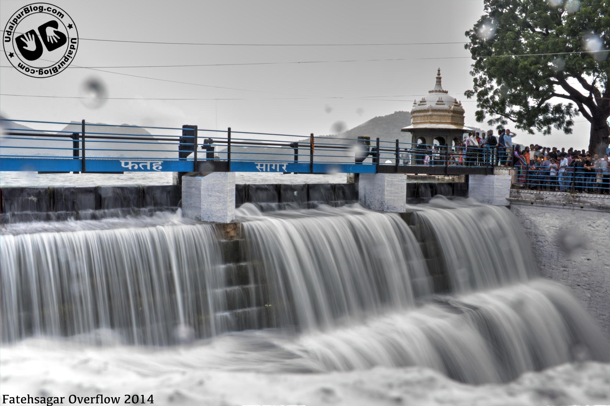 fatehsagar overflow 2014
