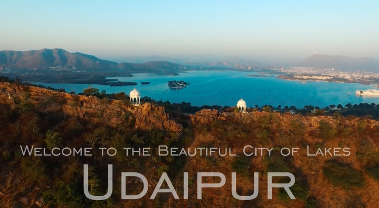 Udaipur Aerial Video