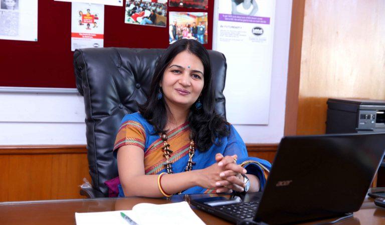 """Dreams Don't Work Unless You Make Efforts."" – Mrs. Neelkamal Agrawal, IMS Udaipur"