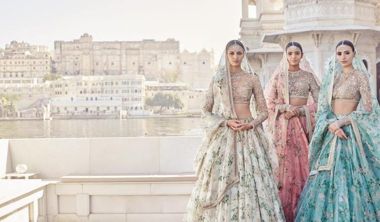 A floral treat to the eyes: Sabyasachi Mukherjee's Udaipur Collection