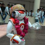 NAO robot in Techno India NJR