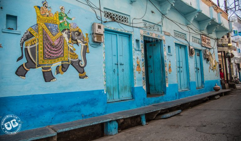 The Street Art in Udaipur