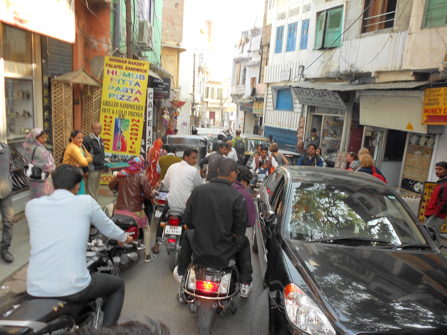 traffic in udaipur