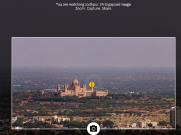Jodhpur's 24 Gigapixel Image: Zoom into the tiniest detail of the Blue City!
