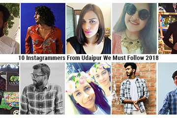 10 Instagrammers From Udaipur We Must Follow 2018