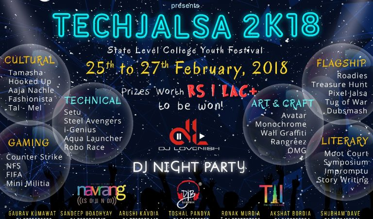 Techno India NJR presents TechJalsa 2k18