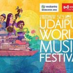 Scheduled performances for the Udaipur World Music Festival 2018
