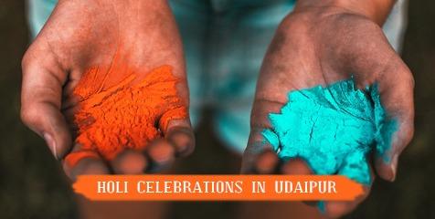 Holi Celebrations in Udaipur