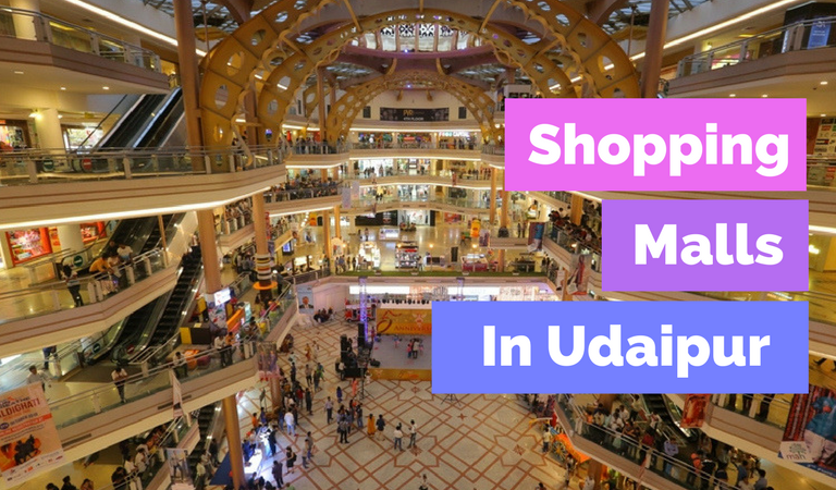 Shopping Malls in Udaipur