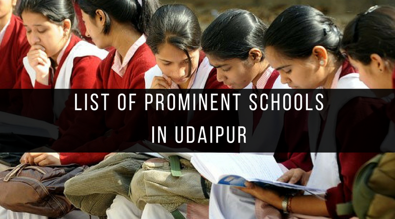List of prominent schools in Udaipur