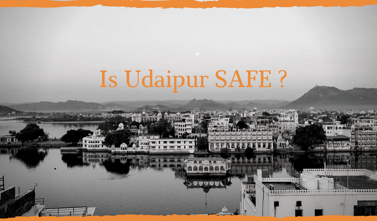 Stealing in the daylight! Is Udaipur really safe?