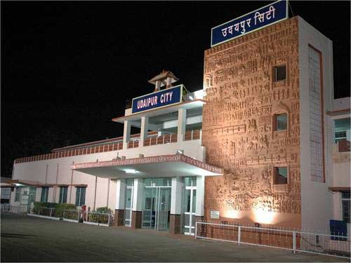 Amenities worth 6 crore installed at Udaipur Railway Station