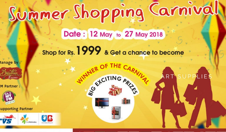 Get Ready to Shop, Celebrate and Win Prizes – Lakecity Summer Shopping Carnival is here!