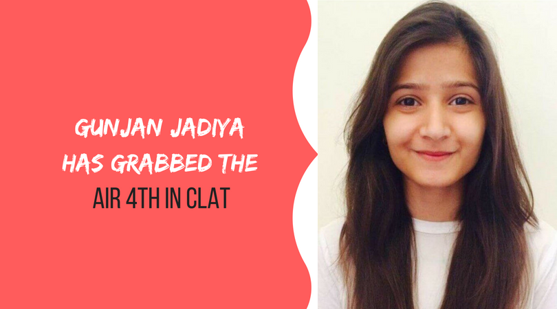 Proud Moment for Udaipur | Gunjan Jadiya has grabbed the AIR 4th in CLAT!