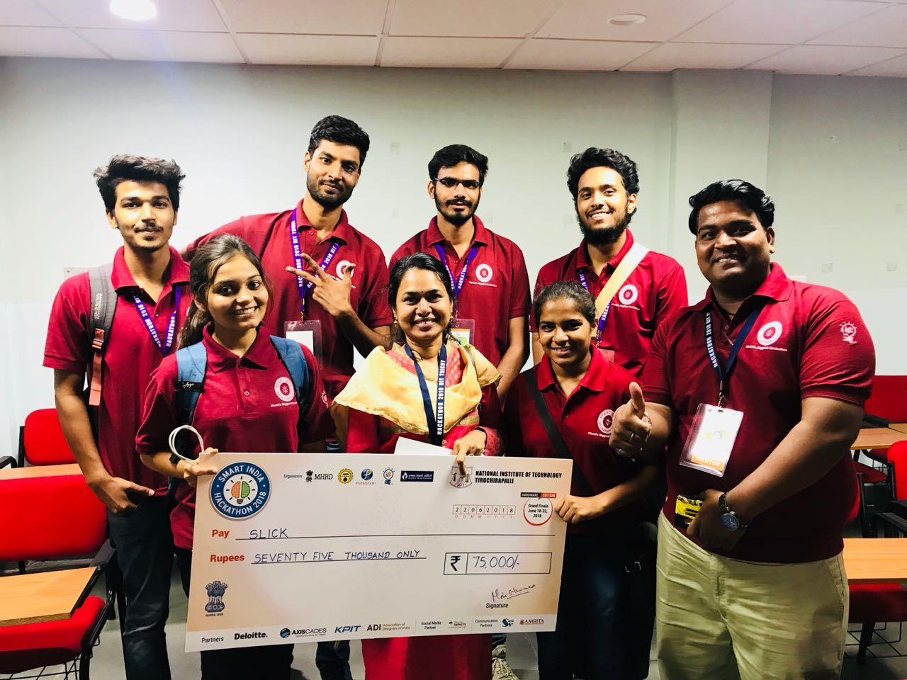 Techno NJR students win innovation prize