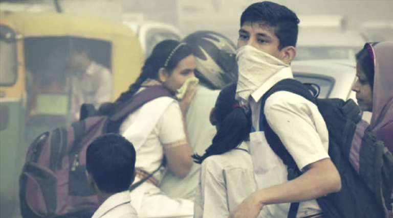 Air in Udaipur is harmful to Children and Elderly people