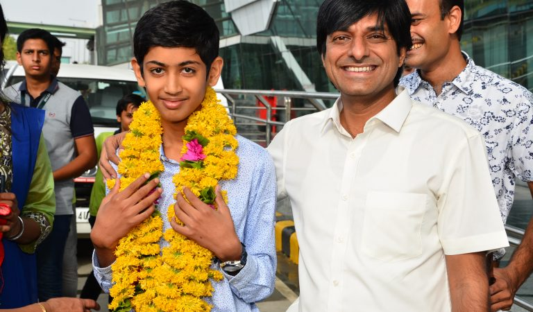 Vaibhav Khater from Udaipur will represent India in Thailand for International Earth Olympiad