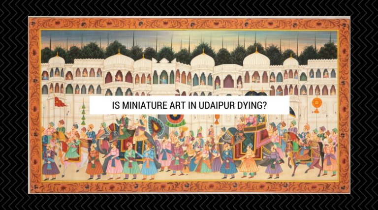 Is Miniature Art in Udaipur Dying_