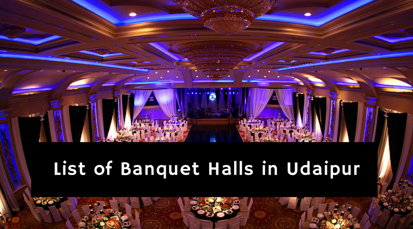 Banquets in Udaipur