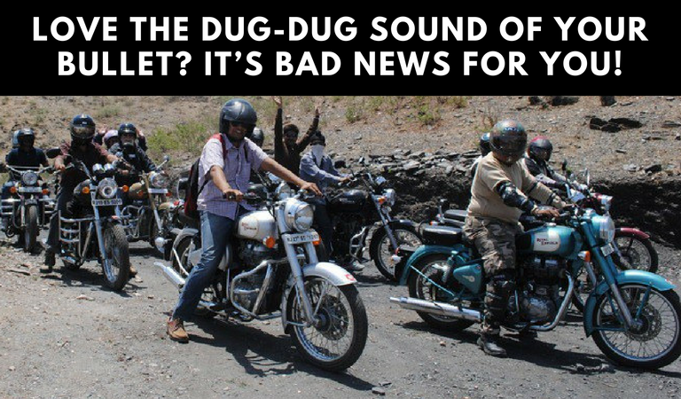 Love the Dug-Dug sound of Your Bullet? It's Bad News for You!
