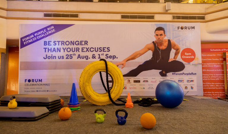 Fitness Challenge Event by Forum Celebration Mall Tested Shoppers' Strength